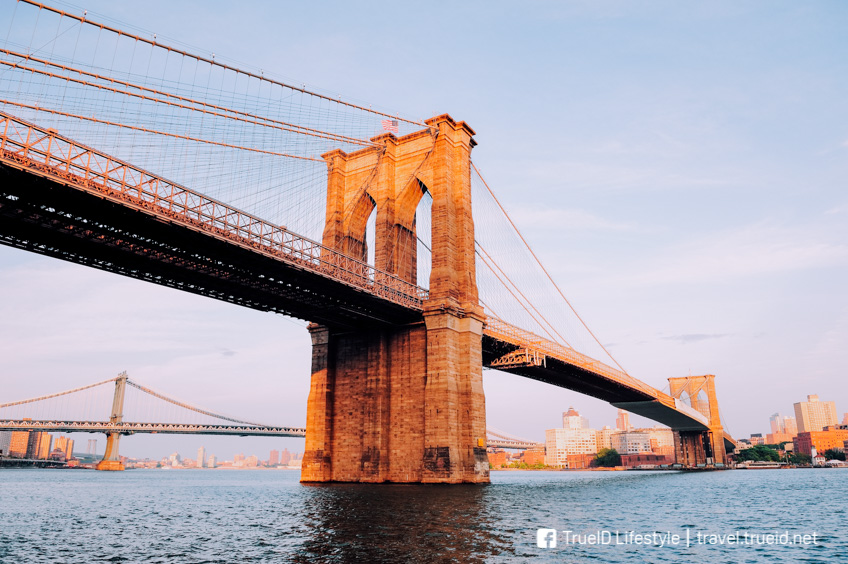 ที่เที่ยวอเมริกา Brooklyn Bridge