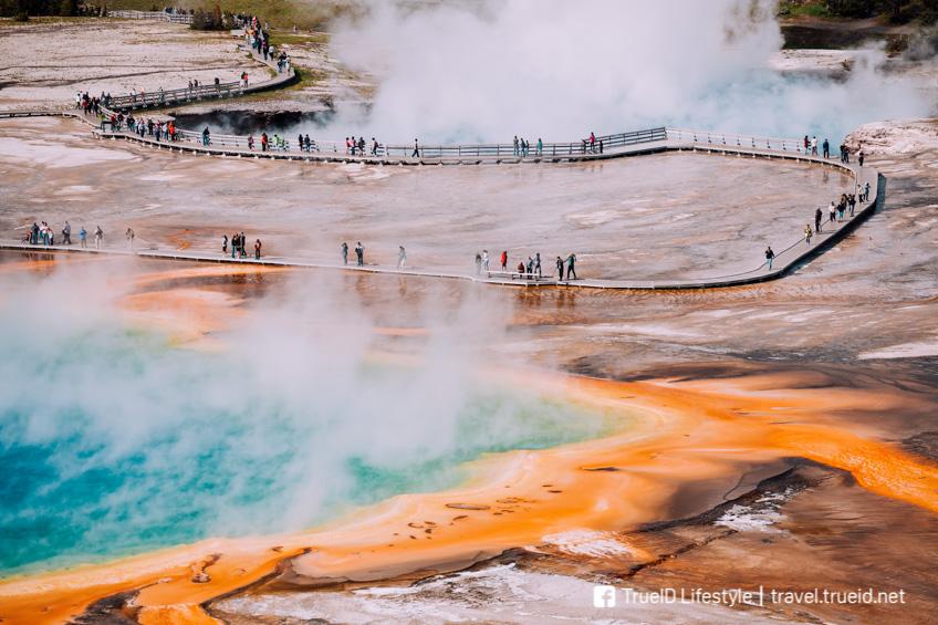 ที่เที่ยวอเมริกา Yellowstone National Park