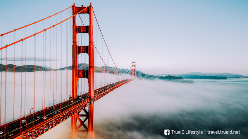 Golden Gate Bridge ที่เที่ยวอเมริกา