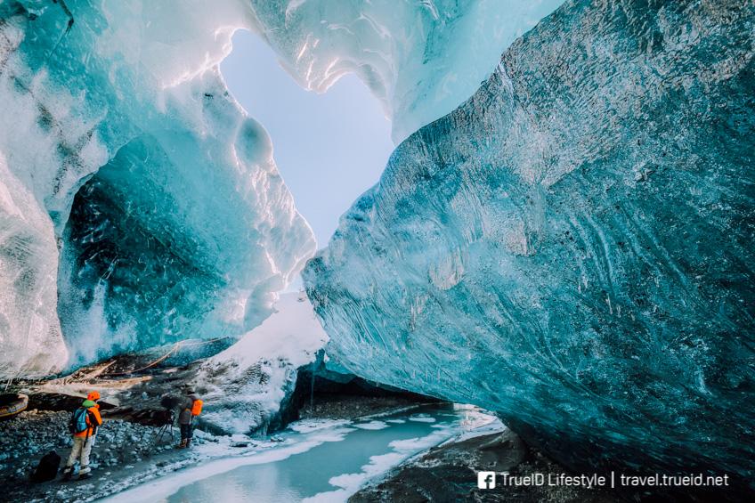 ที่เที่ยวอเมริกา Mendenhall Ice Caves