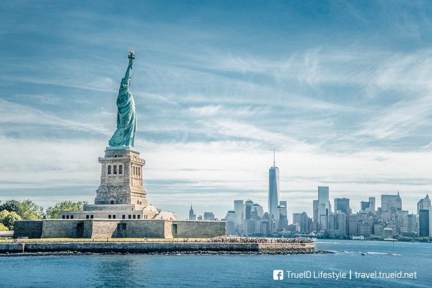 เทพีเสรีภาพ ที่เที่ยวอเมริกา
