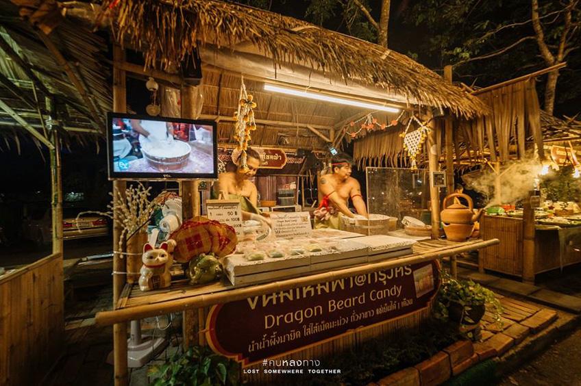 อยุธยา Night Market เที่ยวใกล้กรุงเทพ