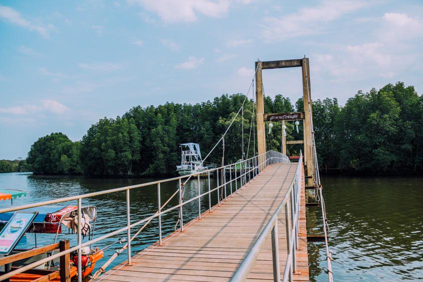 สะพานรักษ์แสม ที่เทียวระยอง