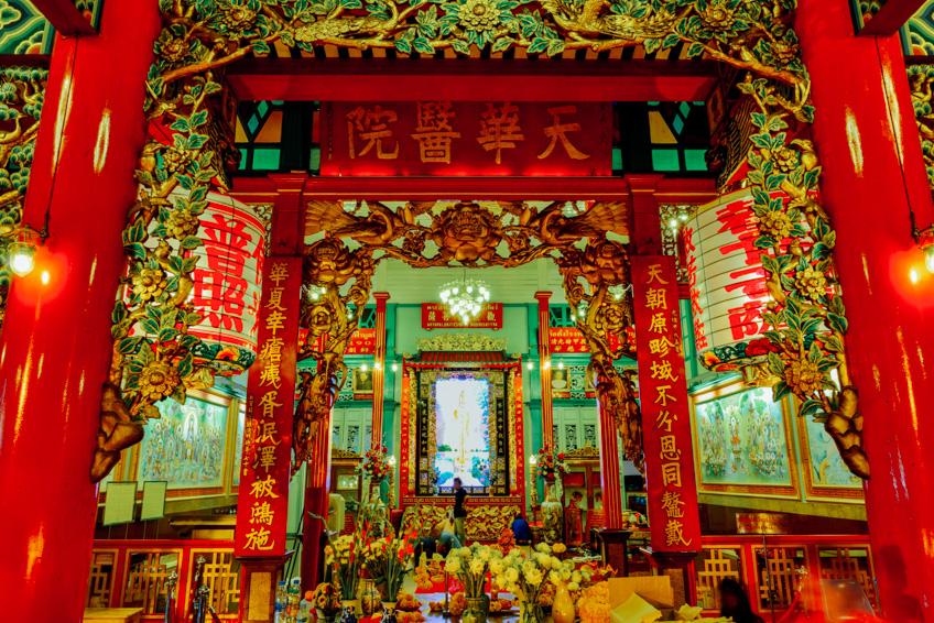 ศาลเจ้าแม่กวนอิม มูลนิธิเทียนฟ้า ตรุษจีน 2019