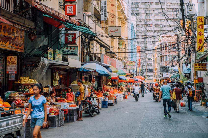 มะนิลา China Town ตรุษจีน