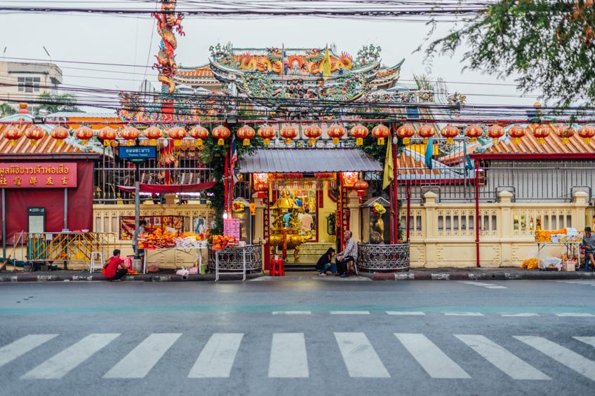 ศาลเจ้าพ่อเสือ ตรุษจีน 2019
