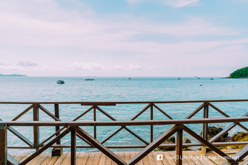 สะพานไม้หาดเทียน ที่เที่ยวเกาะล้าน