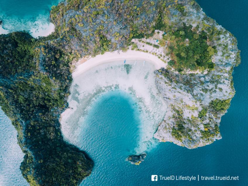 ทะเลพม่า Horseshoe Island