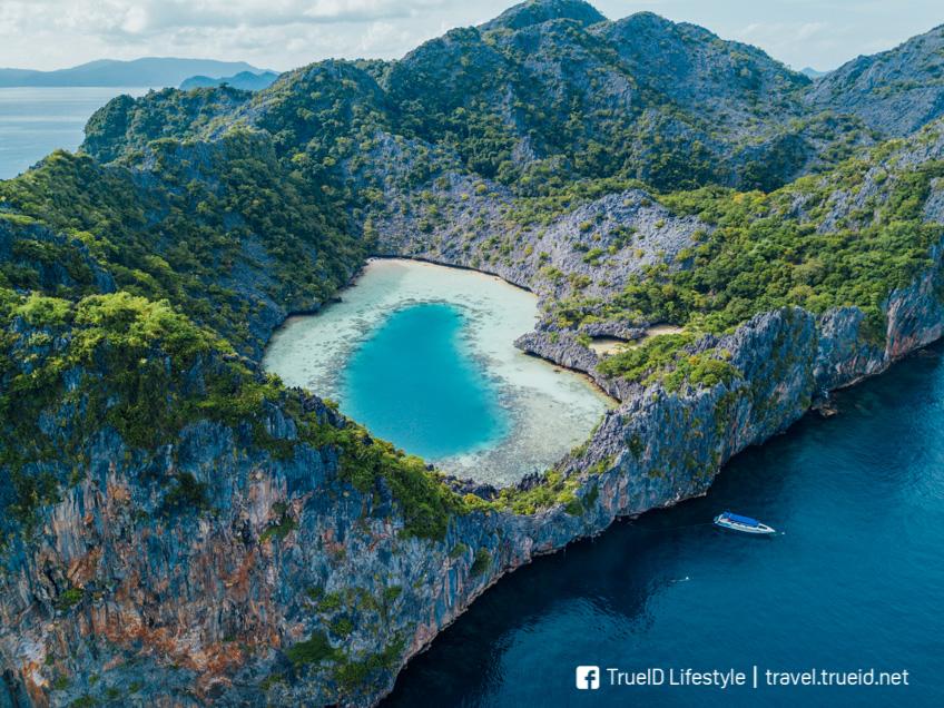 เกาะหัวใจมรกต ทะเลพม่า