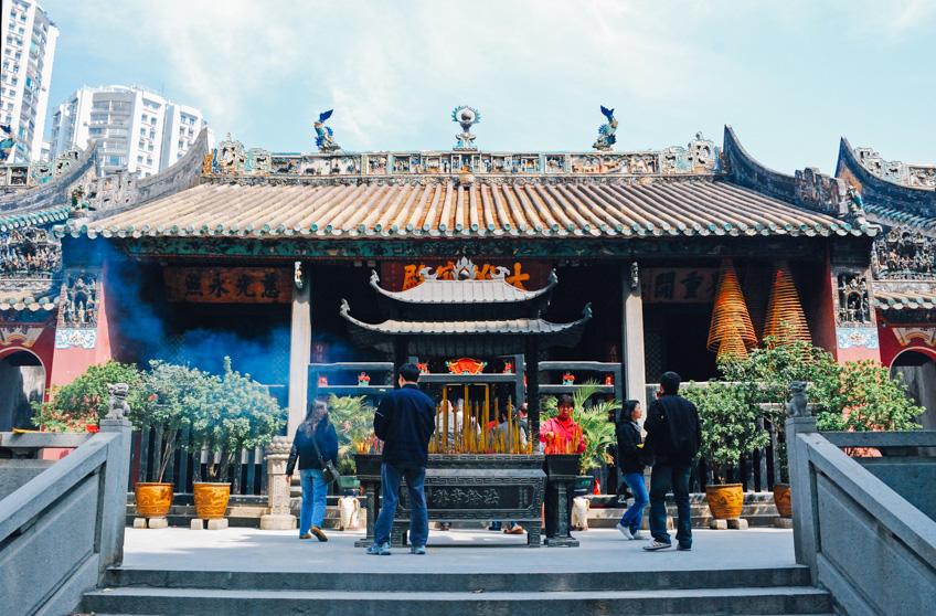 ไหว้พระมาเก๊า ตรุษจีน Kun Iam Temple