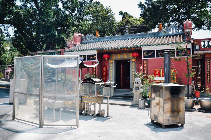 ไหว้พระมาเก๊า Tam Kung Temple