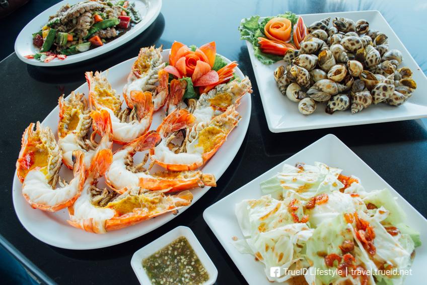 อาหารทะเล เกียง้วน ร้านอาหารเกษตรนวมินทร์