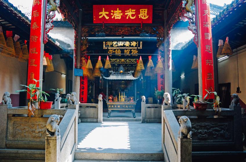 Kun Iam Temple ไหว้พระมาเก๊า ตรุษจีน