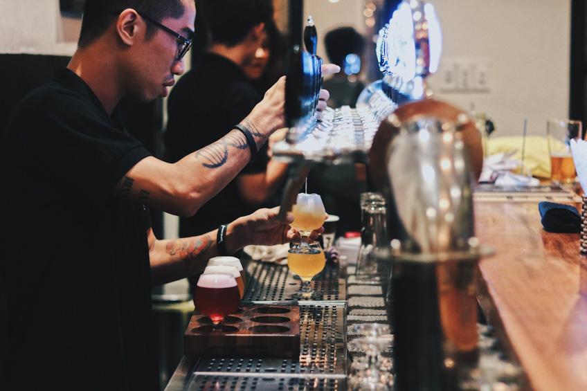ร้านเบียร์คราฟต์ที่โฮจิมินห์