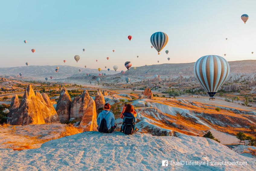 Cappadocia ที่เที่ยววาเลนไทน์ โรแมนติก