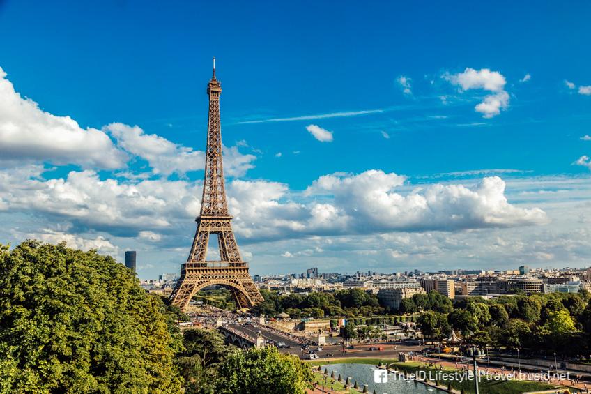 หอไอเฟล ฝรั่งเศส ที่เที่ยววาเลนไน์