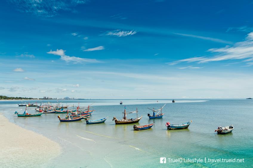 ทะเลใกล้กรุงเทพ หาดหัวหิน