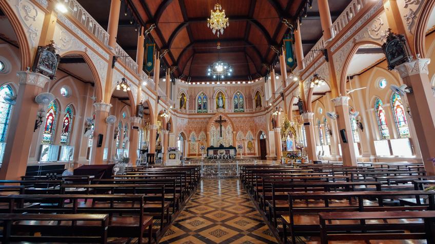 โบสถ์ จันทบุรี เที่ยวใกล้กรุงเทพ