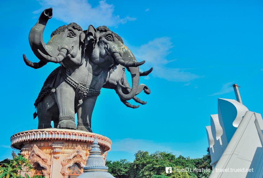 พิพิธภัณฑ์ช้างเอราวัณ สมุทรปราการ เที่ยวใกล้กรุงเทพ