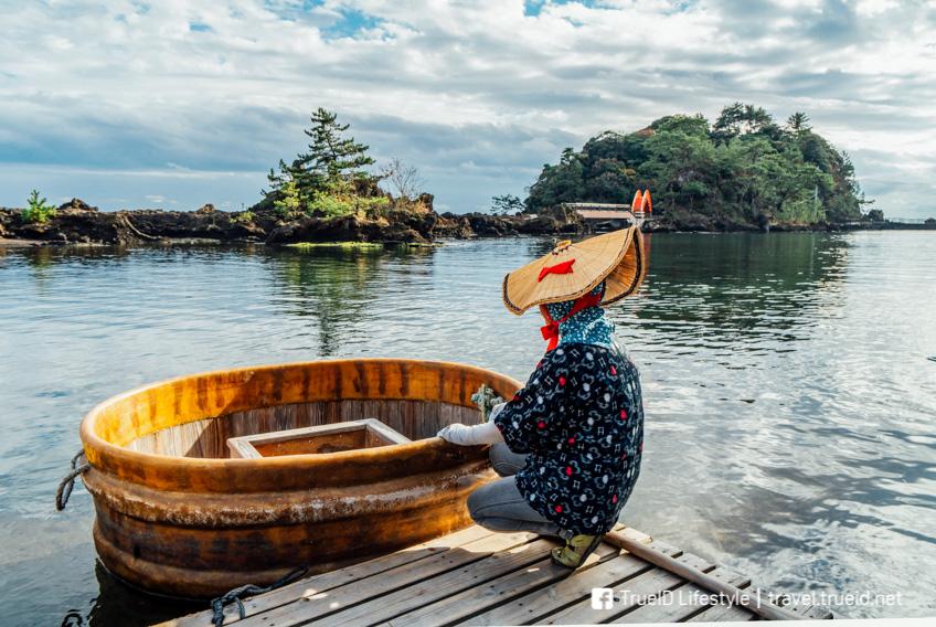 Tarai bune tub boat เที่ยวญี่ปุ่น