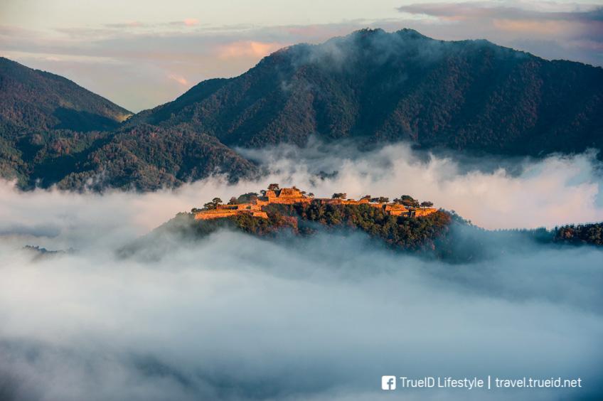 เที่ยวญี่ปุ่น Takeda Castle