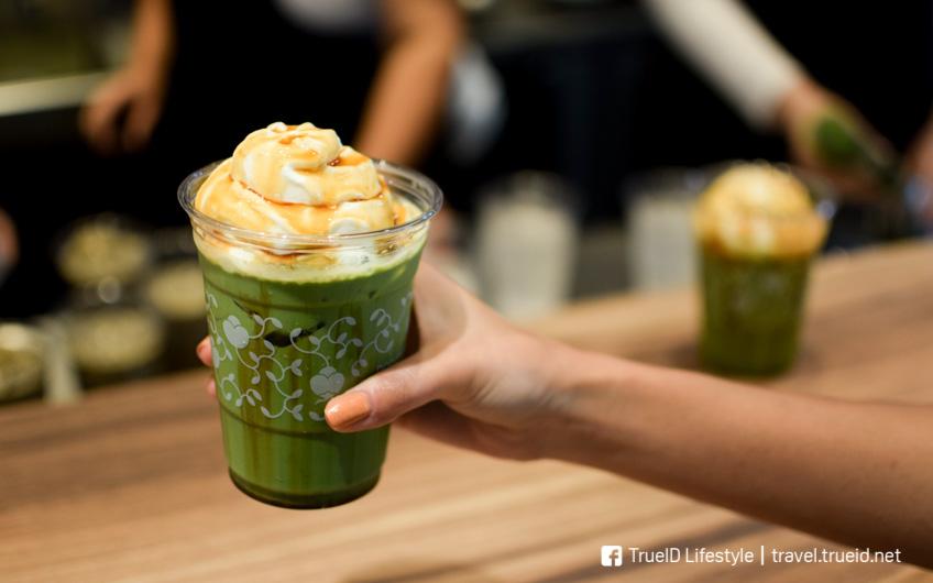 Nana's Green Tea ดองกี้ ทองหล่อ 10 คาเฟ่ชาเขียว