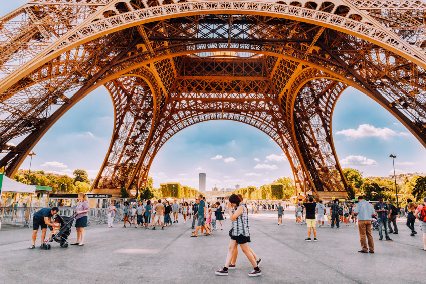 Eiffel Tower ปารีส