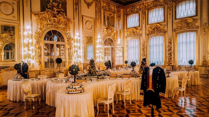 Catherine Palace รัสเซีย