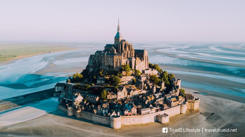 Mont St. Michel สถาปัตยกรรม
