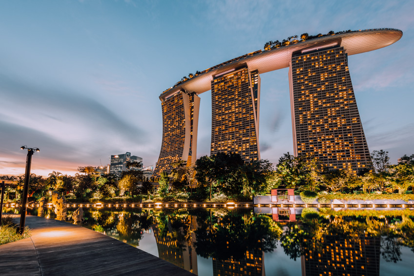 Marina Bay Sand สิงคโปร์