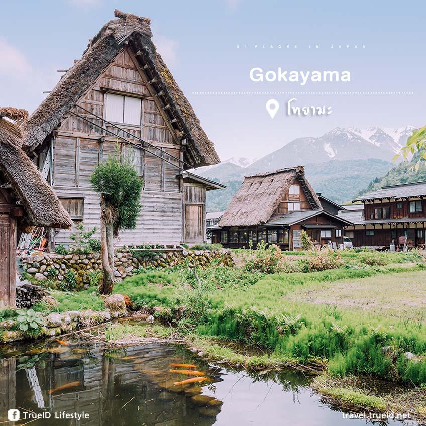 ที่เที่ยวญี่ปุ่น Gokayama