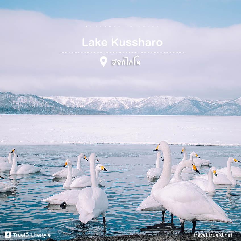 ที่เที่ยวญี่ปุ่น Lake Kussharo