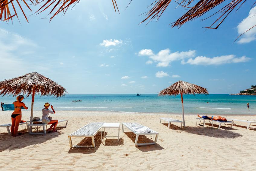 หาดเฉวง ที่เที่ยวเกาะสมุย