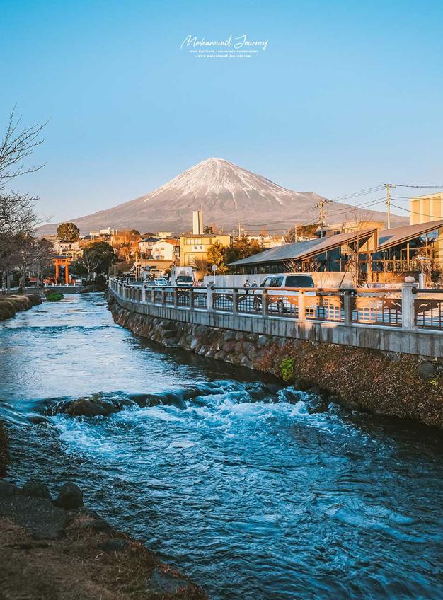 Fujisan Hongu Sengen Taisha ภูเขาไฟฟูจิ ญี่ปุ่น