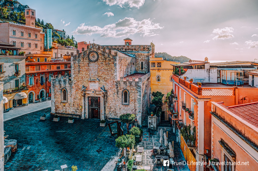 Aquaman ฉากถ่ายทำ Sicily, Italy