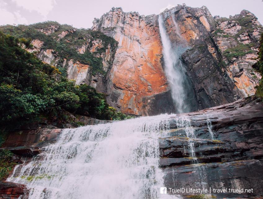 Up Angel Falls โลเคชั่น