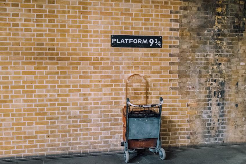 แฮร์รี่ พ็อตเตอร์ London King's Cross railway station