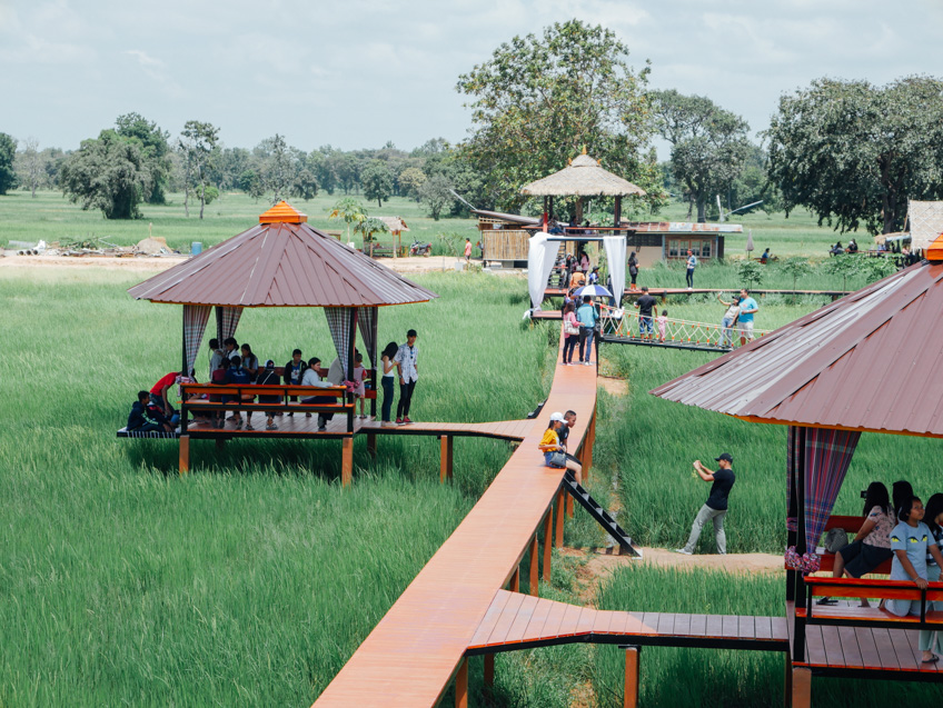 สวนคุณปู่ คาเฟ่ ที่เที่ยวบุรีรัมย์