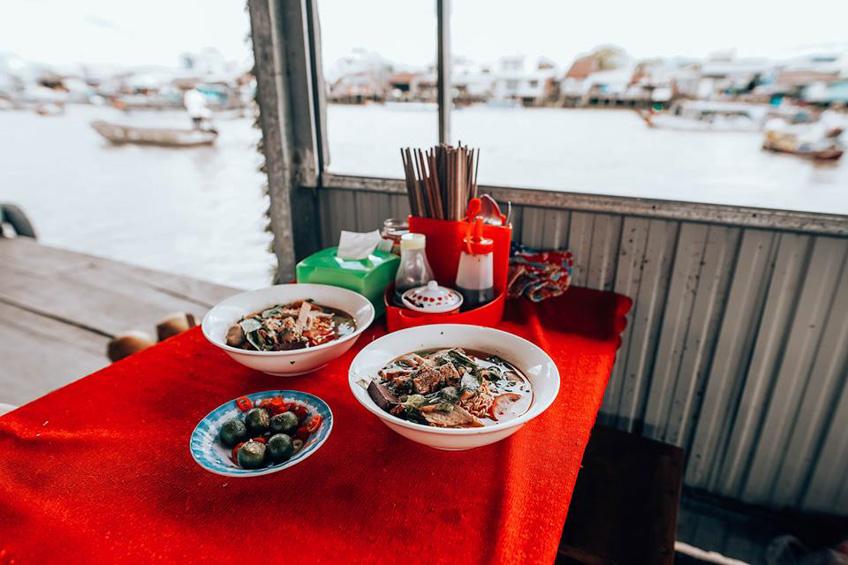 Cai Rang Floating Market ตลาดน้ำเวียดนาม