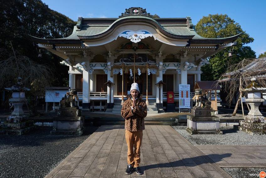 Takeo Shrine ที่เที่ยวซากะ
