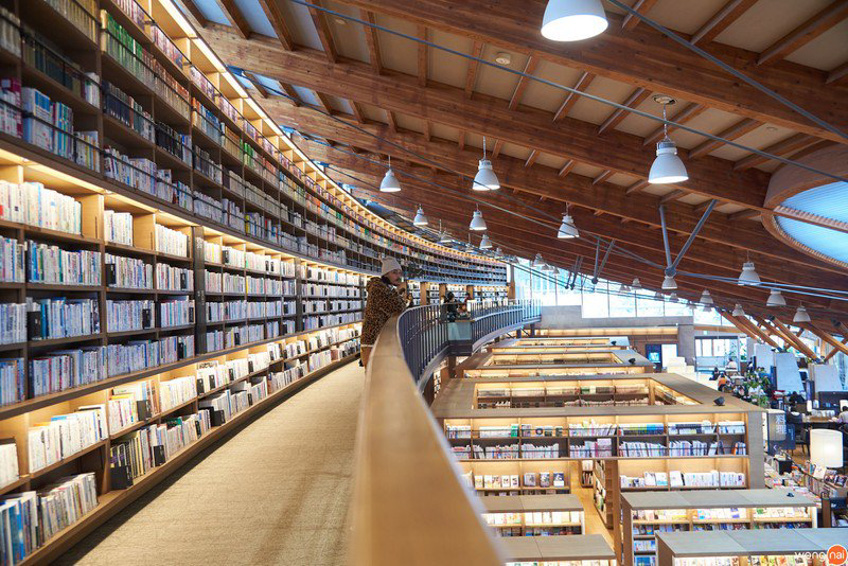 Takeo City Library ที่เที่ยวซากะ ญี่ปุ่น
