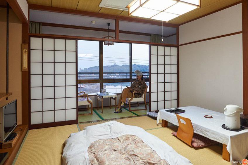 Yatomiso Ryokan ที่พักซากะ