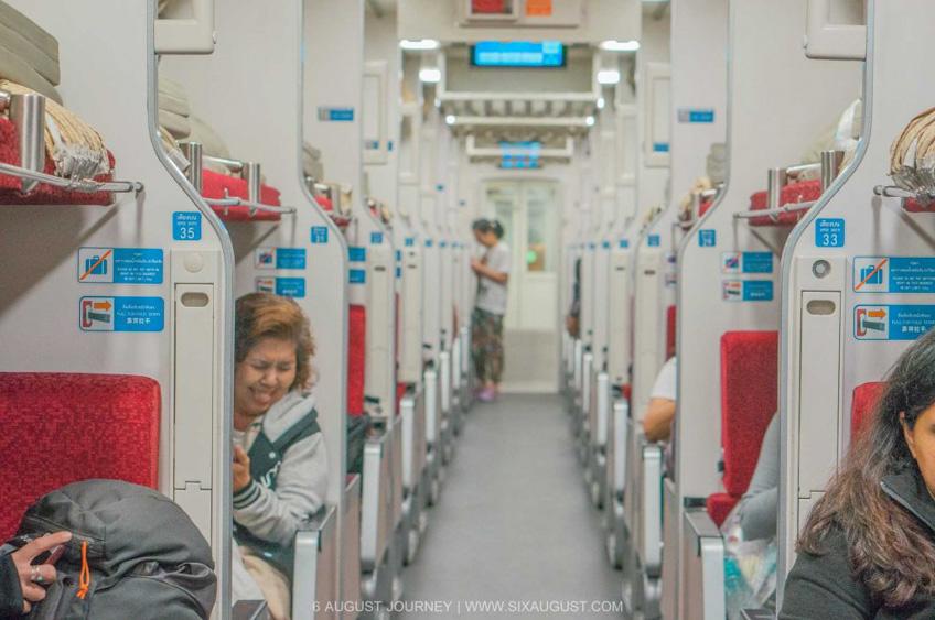 นั่งรถไฟไปเชียงใหม่