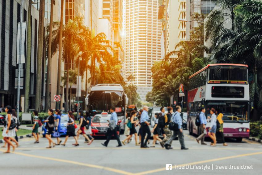 เที่ยวต่างประเทศ งบน้อย สิงคโปร์