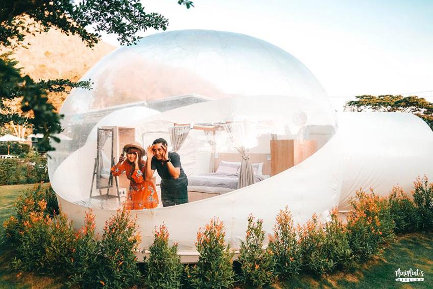ที่พักสวยเขาใหญ่ ที่พัก Bubble