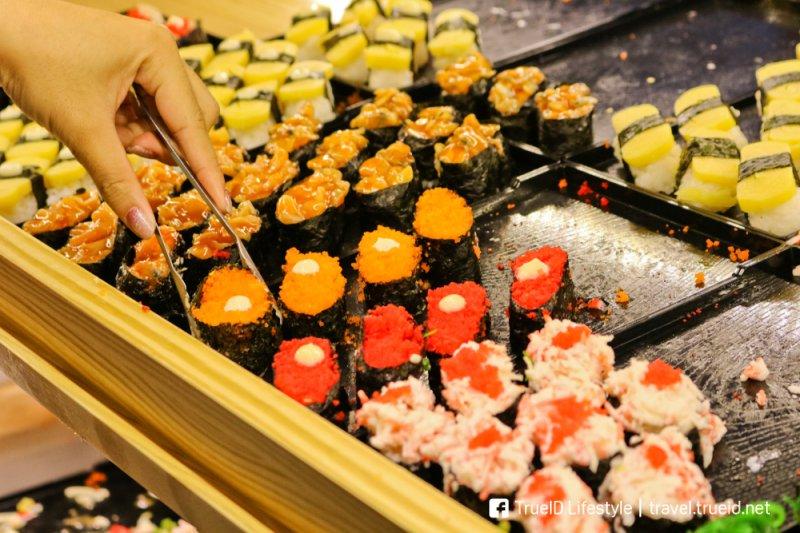 Thai style sushi