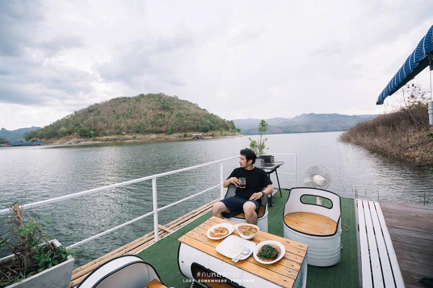 แพกาญจนบุรี The Raft