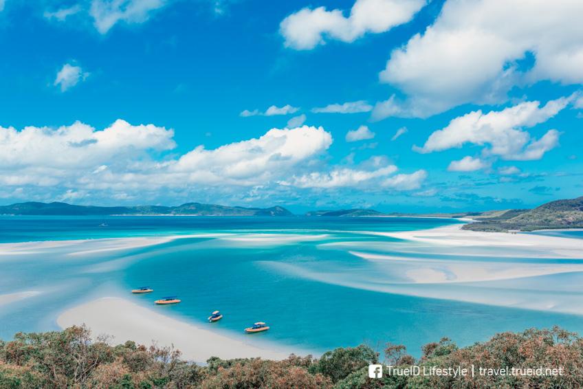 Whitsunday Island ที่เที่ยวออสเตรเลีย