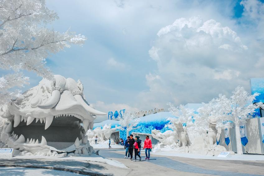 Frost Magical Ice of Siam ที่เที่ยวพัทยา