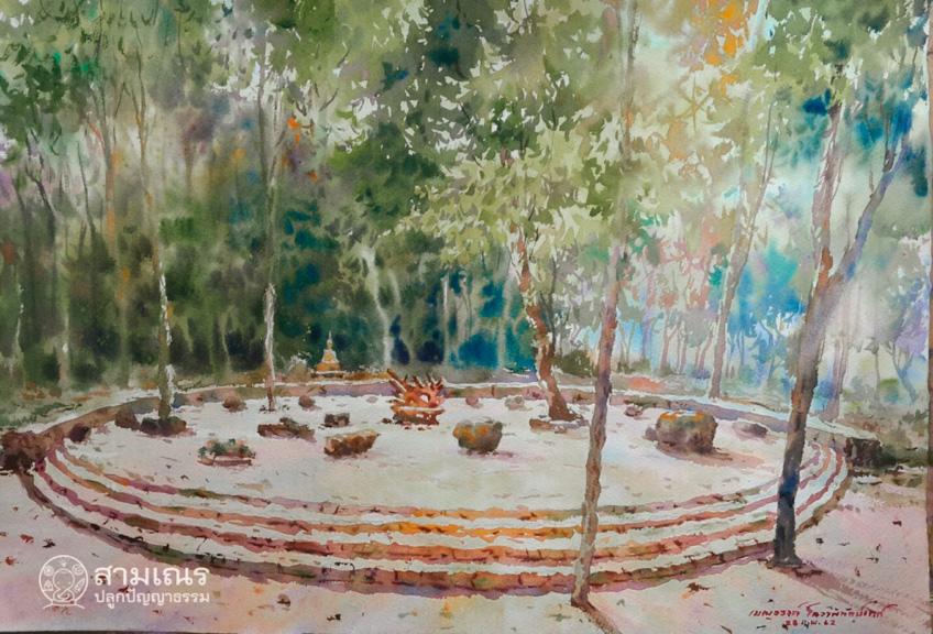 สวนโมกข์ วัดสวยสุราษฎร์ธานี